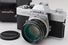 EXC+++++ Minolta SRT 101 Body, MC Rokkor-PF 55mm f/1.7 Lens, Case from Japan#p16