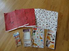Dog Scrapbook paper and sticker embellishments pets Mrs. Grossman's Sandylion