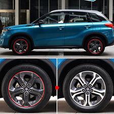 Sports Grade Car Carbon Fiber Wheels Mask Decal Stickers for Suzuki vitra 2016