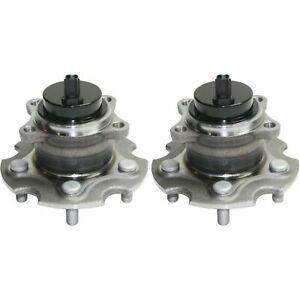 2 DTA Rear Wheel Hub Bearing Assemblies Fits Scion TC, Toyota RAV-4 2WD Only ABS