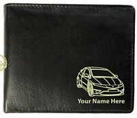 Personalised Mens Real Leather Wallet - Civic (2) Design