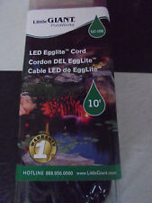 Little Giant LC10E 10 ft Extension Cord Male to Female Mini LED
