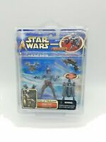 Star Wars JANGO FETT w/ Electronic Jetpack and Snap-On Armor New in Case