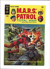 "M.A.R.S. PATROL TOTAL WAR #8 [1968 VG+] ""UNDERSEA STRIKE!"""