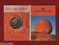 2002 Year of the Outback $1 unc Coin - 'C' Canberra Mint Mark