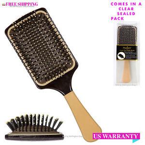 Marilyn Brush Flatter Me Paddle Hair Brush Cushioned pad and massaging ball tips