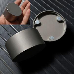 Titanium Pill Container Box magnetic storage Box tea pot Watch Jewelry box