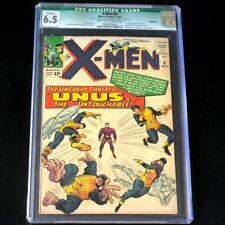 X-Men #8 💥 CGC 6.5 Qualified 💥 1st App Unus the Untouchable! Marvel Comic 1964