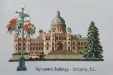 Canadian Counted Cross Stitch Kt Parliament Buildings Victoria B.C. Thea Dueck