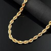 Italian Made 14k GOLD 3mm by 20inch Gold Rope Chain