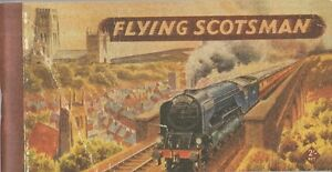 Flying Scotsman Booklet Reproduction Of Orignal Booklet