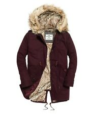 SUPERDRY Borderlands Fur Lined Parka Size Small / 10 NEW TAGS