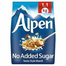 Alpen Muesli NO ADDED SUGAR 1.1 kg des céréales pour petit déjeuner-Swiss recett...