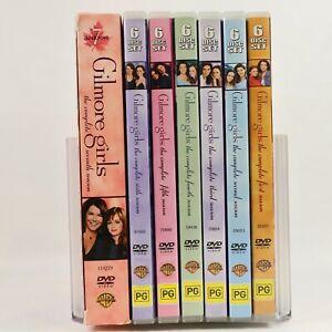 Gilmore Girls Season 1 2 3 4 5 6 7 TV Series Alexis Bledel DVD R4 Good Condition