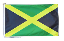 More details for jamaica flag with rope and toggle - various sizes