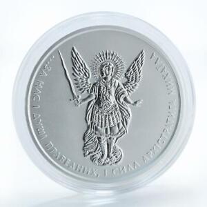 Ukraine 1 hryvnia, Archangel Michael, silver coin, 2017