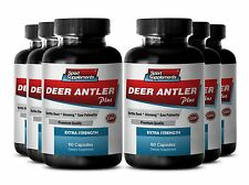 Velvet Spray - Deer Antler Extract Plus 550mg - Extreme Muscle Growth Pills 6B