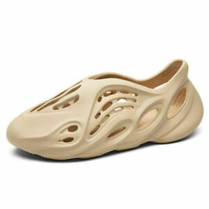 Summer Men's Women's Sandals Foam Non-slip Beach Shoes Casual Slipper Hole Shoes