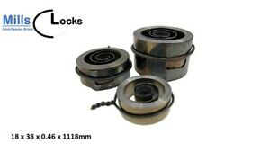 Replacement Clock Mainspring, 400 Day Clocks, (Size:18 x .0.46 x 38mm) (6293)