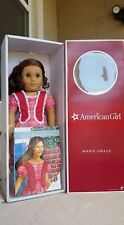 AMERICAN GIRL Brand New in Box Retired Marie-Grace Doll w/book