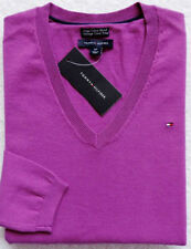 Cotton Blend V-Neck Regular Size XS Sweaters for Women