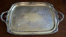 "Heritage Silverplate 24"" Waiter Tray"