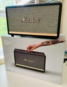 Marshall Stanmore II 2 Bluetooth Speaker - Black