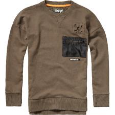 VINGINO Pullover Sweatshirt Pulli Sweat NUVAS Gr. 18/EU 188 Braun NEU