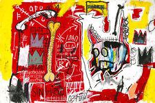 Jean Michel Basquiat  Do Not revenge Modern Abstract Canvas Fine Art 20 x 30 A1