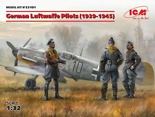 ICM 1/32 PLASTIC MODEL KIT GERMAN LUFTWAFFE PILOTS (1939-1945) ICM32101