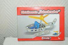 PETIT HELICOPTERE  39 PCS STYLE MECCANO NEUF METAL + OUTILS MODEL KIT