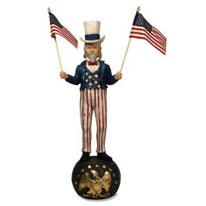 Bethany Lowe: 4TH of July; Patriotic; Americana; Uncle Sam Large item# TJ2401