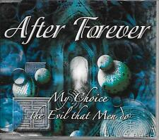 AFTER FOREVER - My choice / The evil that men do CDM 5TR Heavy Metal 2003 RARE!