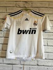 REAL MADRID ADIDAS SPAIN LA LIGA FOOTBALL SHIRT JERSEY KIDS YOUTH 8-9 YEARS A22