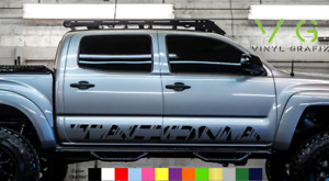 Toyota Tacoma Vinyl Decal Sticker Graphics TRD Sport Side Door x2