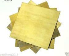 1pcs Brass Metal Sheet Plate 8mm x100mm x100mm