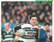 299 T. UNDERWOOD NEWCASTLE FALCONS 1  STICKER PREMIER DIVISION RUGBY 1998 PANINI
