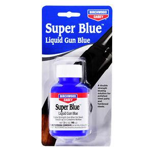 Birchwood Casey SUPER BLUE Liquid Gun Blue FOR BLUEING POLISHED HARDENED STEELS