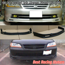 Mu-gen Style Front Bumper Lip (PP) Fits 98-00 Honda Accord 2dr