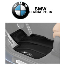 For BMW X3 Set of 2 Front All Weather Rubber Floor Mat Set