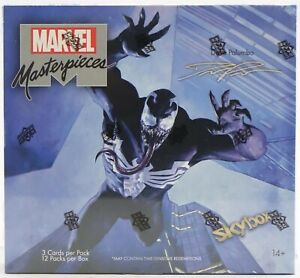 2020 Upper Deck Marvel Masterpieces by Dave Palumbo - Sealed Hobby Box