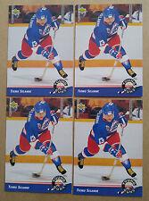 1992-93 Upper Deck Teemu Selanne Young Guns Lot (4) Winnipeg Jets Anaheim Ducks