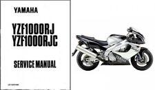 1996-2003 Yamaha YZF1000R Thunderace 1000 Service Manual on a CD  -  YZF 1000 R