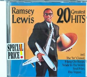 Ramsey Lewis: 20 Greatest Hits (1992): CD Jewelcase REP4259A SG