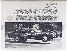 1968 1969 1970 1971 Drag Race Piezas Libro Roadrunner Belvedere Barracuda