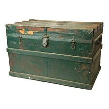 Chests & Trunks Fast Deliver Chinese Vintage Red Kids Theme Trunk Box Chest Cs4906 Boxes, Jars & Tins