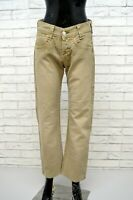LEVI'S Donna Jeans Vita Alta Taglia 40 Pantalone Gamba Dritta Pants Woman Casual