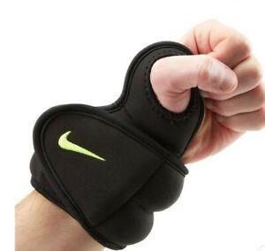 Nike Unisex Wrist Weight Pair 2.5 lbs Sweat-Wicking Lining & Adjustable Straps
