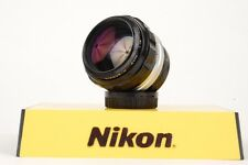 Nikon Nippon Kogaku NIKKOR-H Non-Ai 85mm f/1.8 Manual Focus Lens *READ* #220354