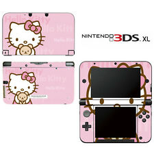 Vinyl Skin Decal Cover for Nintendo 3DS XL LL - Cute Kitty